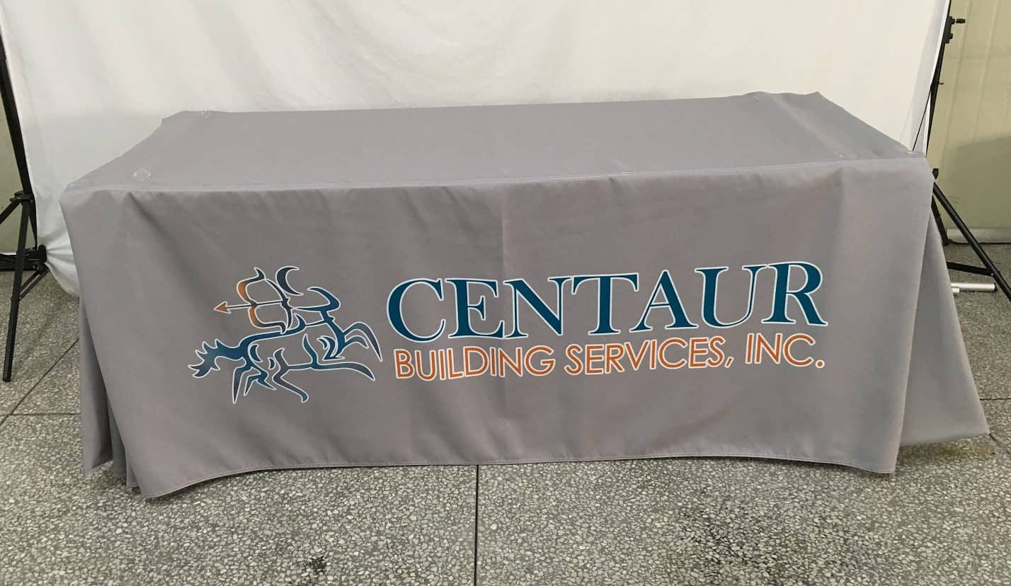 Centaur Building Service Table Cover 2