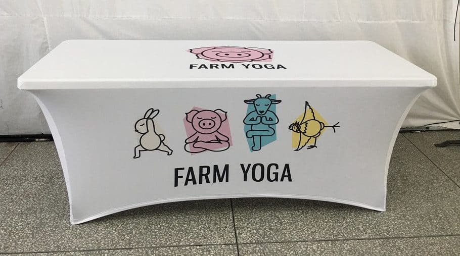 Farm Yoga 6ft Stretch Table Cover