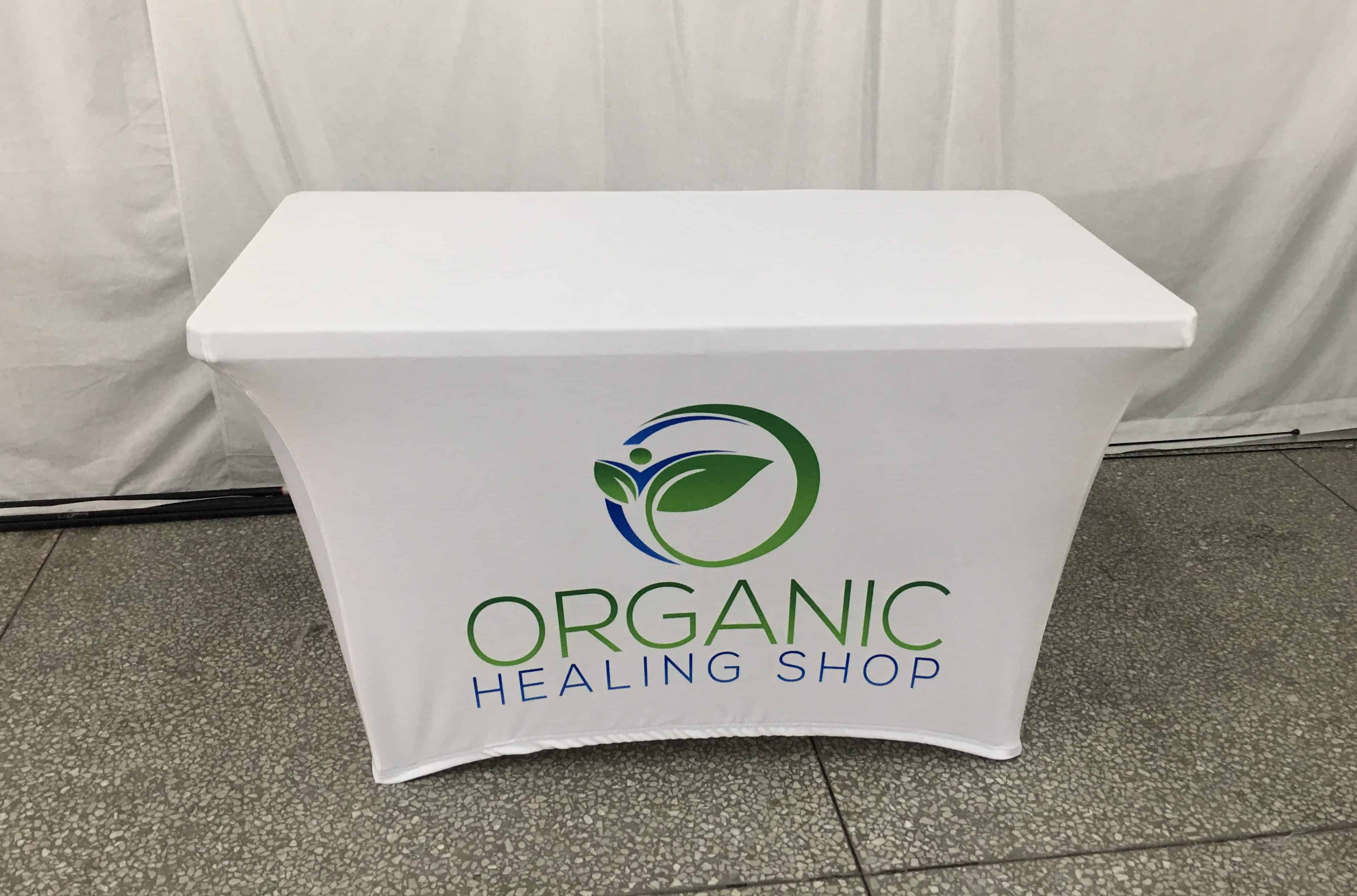 Organic Healing Shop Table Cover