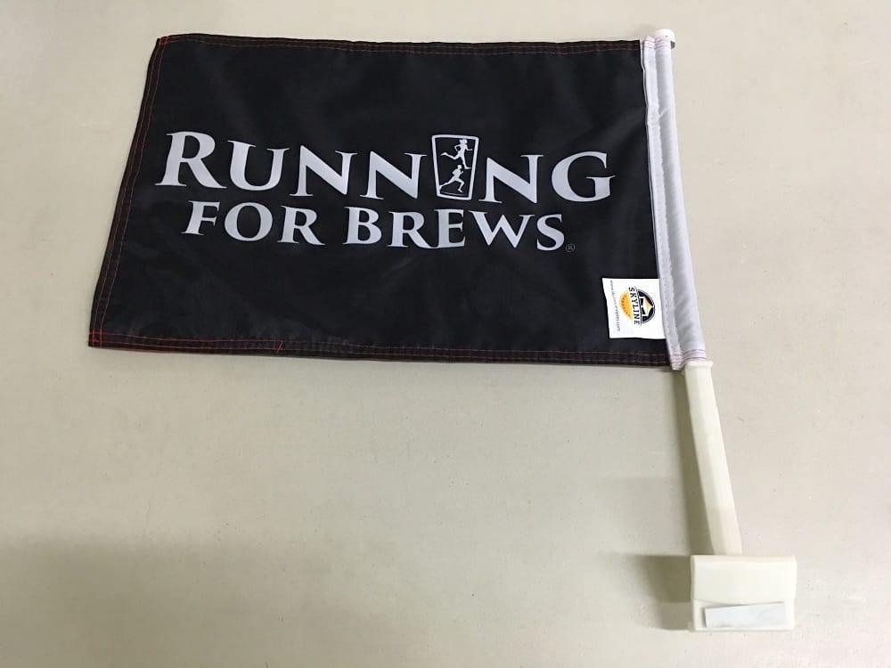 Premium America Running For Brewscar Flag 3