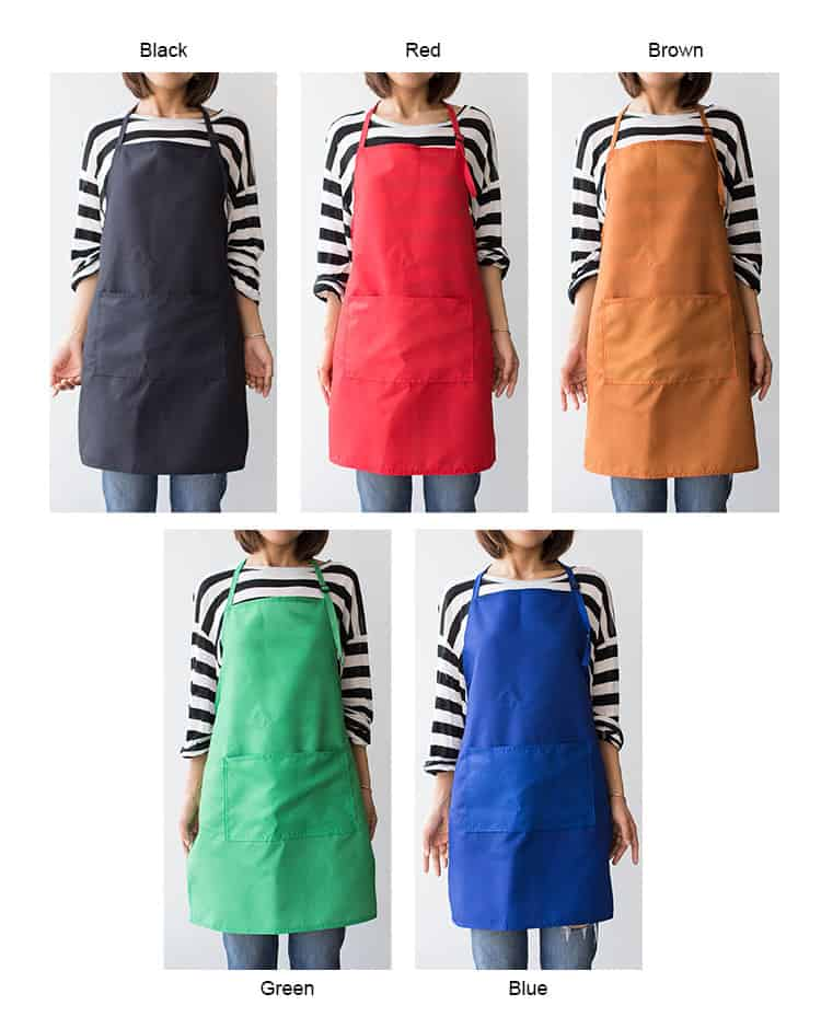 Single Colored Apron
